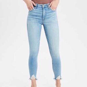 American Eagle Stretch High Rise Jegging Cropped